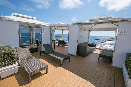 The Retreat is an adults-only sanctuary for an extra fee on ms Oosterdam.