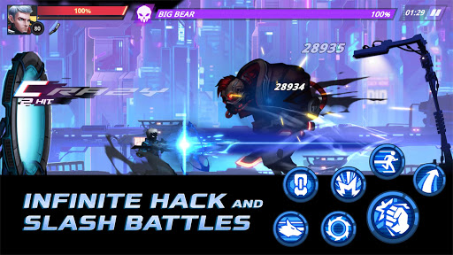 Cyber Fighters: Death of the Legend Shadow Hunter filehippodl screenshot 3