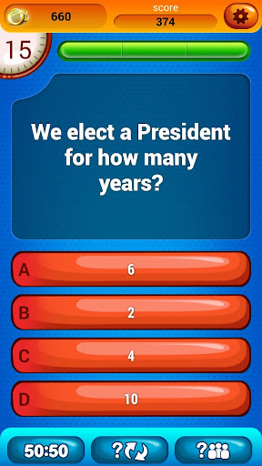 US Citizenship Questions Screenshot