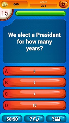 android US Citizenship Questions Screenshot 2