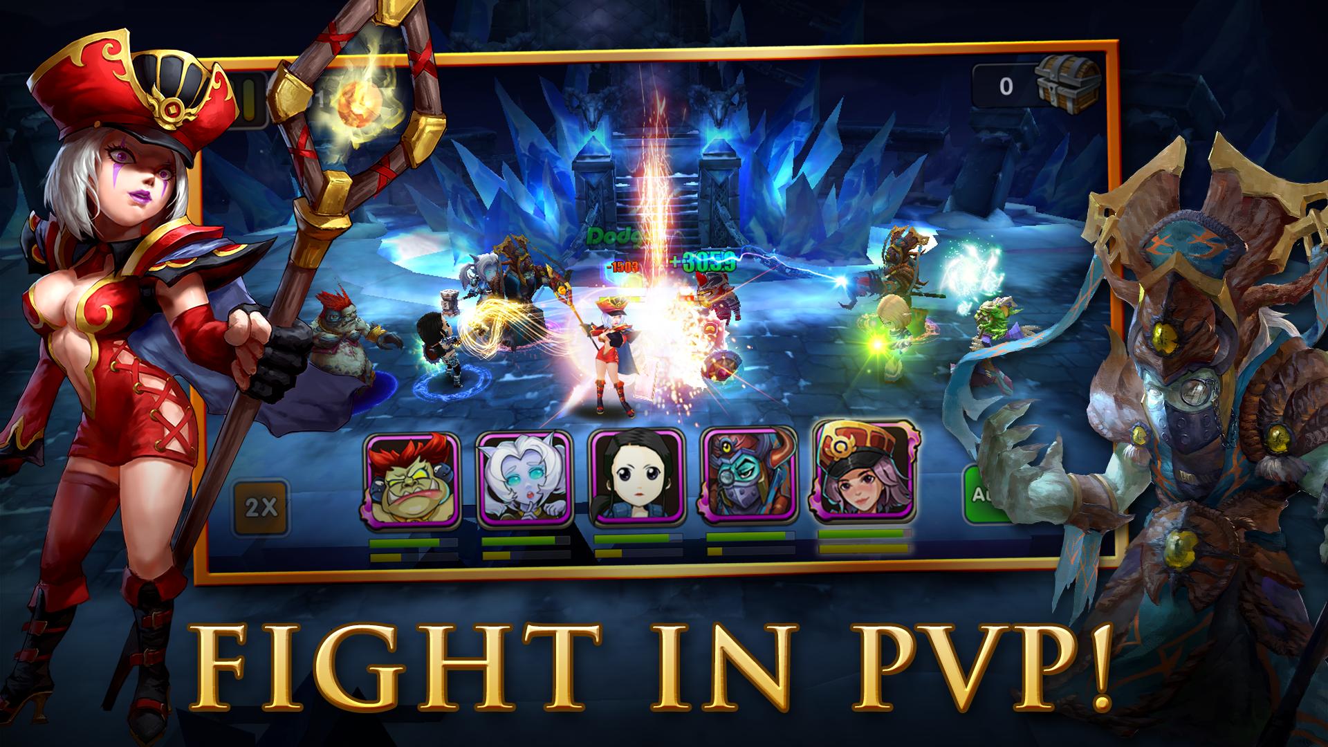 Rush of Heroes screenshot #4