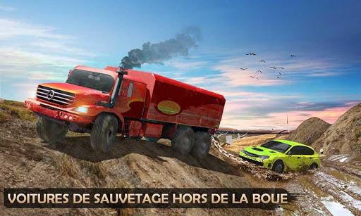 Télécharger Gratuit 6x6 Coureur de boue Auto Dépanneuse Hors route APK MOD (Astuce) screenshots 4