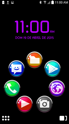 ICON PACK GLOSSY COLORS BUTONS