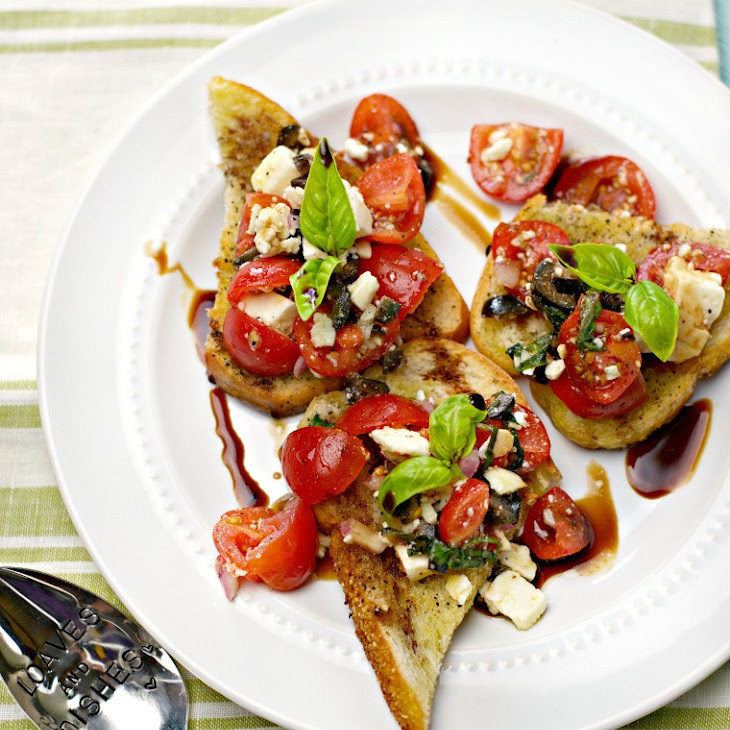 Easy Summer Party Bruschetta Recipe