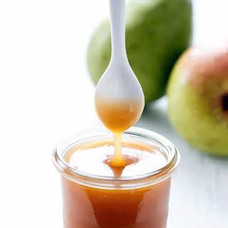 Pear Caramel Sauce.