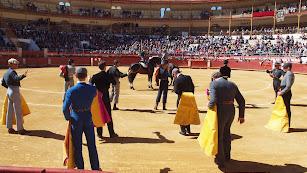 Paseíllo en el festival de Almería de marzo en una pasada edición.