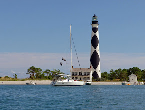 Photo: Cape Lookout and Keeper's Quarters