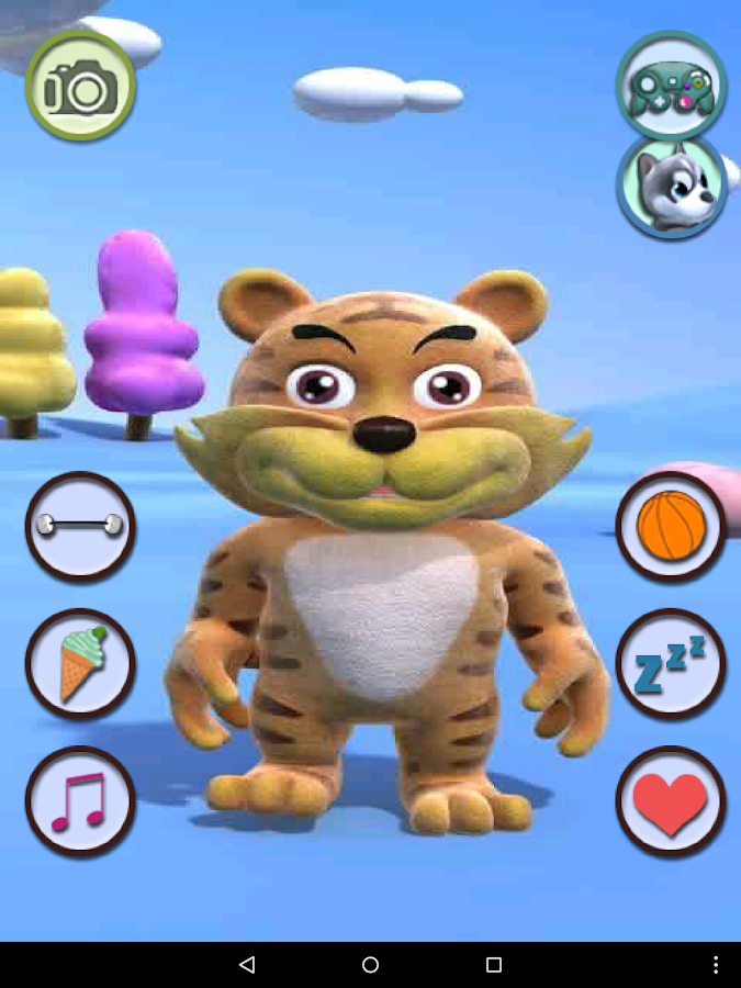 Talking Tiger - screenshot
