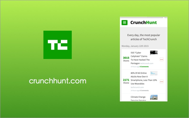 CrunchHunt Chrome Extension