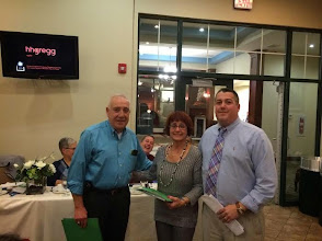 Photo: The Carbondale Chapter of UNICO recently inducted two new members. from left to right Dr.John Lemoncelli, Kitty Golin. and President Brian Durkin