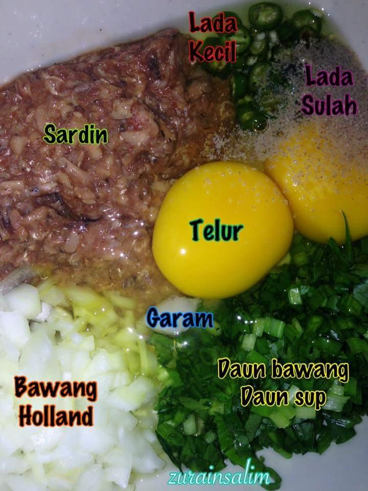Resepi roti telur sardin viral