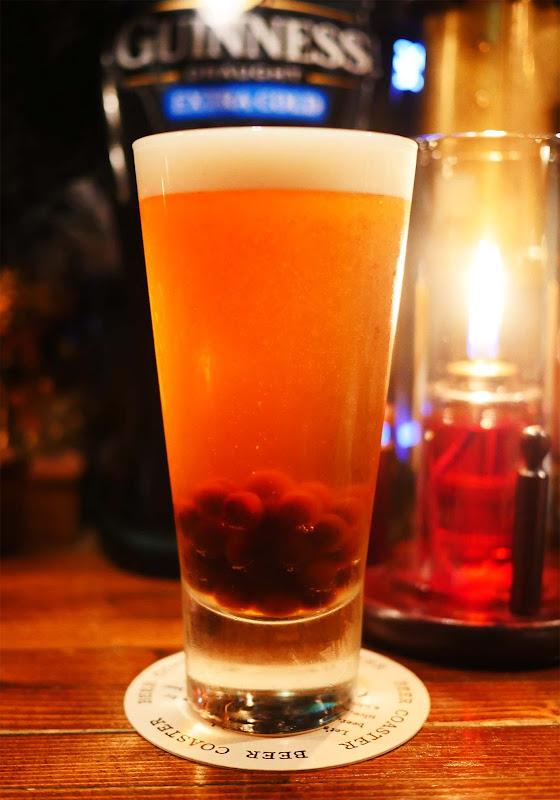 【革命グルメ】魅惑のタピオカ入りビールが感動する美味しさ / 渋谷 THE GRIFFON