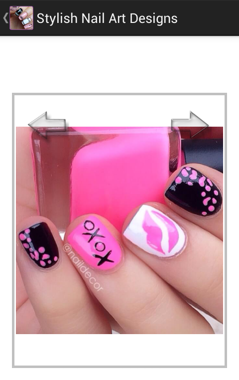 Stylish nail art designs android apps on google play stylish nail art designs screenshot prinsesfo Image collections