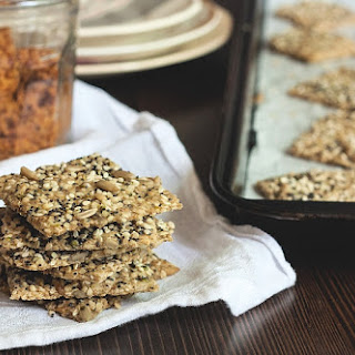 Pumped Up Seeded Crackers