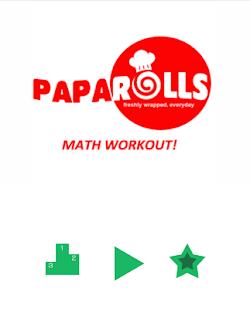 Math Workout Free (Paparolls) screenshot