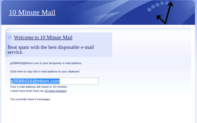 10 Minute Mail Extender