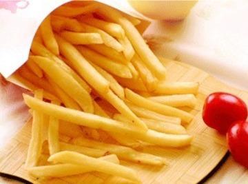 Fried Potato Chips Recipe