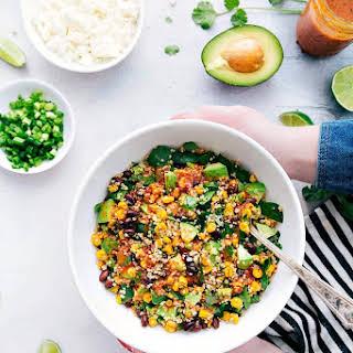 Mexican Avocado and Corn Quinoa Salad.