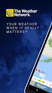 The Weather Network: Local Forecasts & Radar Maps Screenshot
