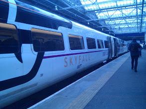 Photo: 007 train from Edinburgh to London. Peeewww.