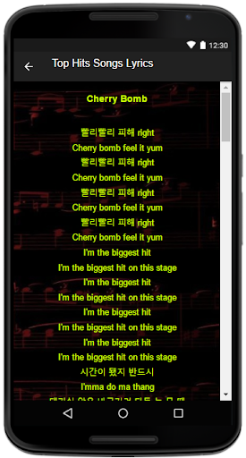 Download NCT 127 Song Lyrics Google Play softwares - aggAOEcpw96l