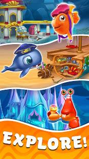 Trito's Adventure - Sea Legend Puzzle Saga Mod