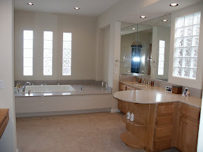 Photo: Master Bath, before we bought the house