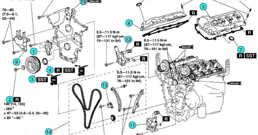 Circuit Electric For Guide: 2007 Mazda Cx 9 Engine Diagram