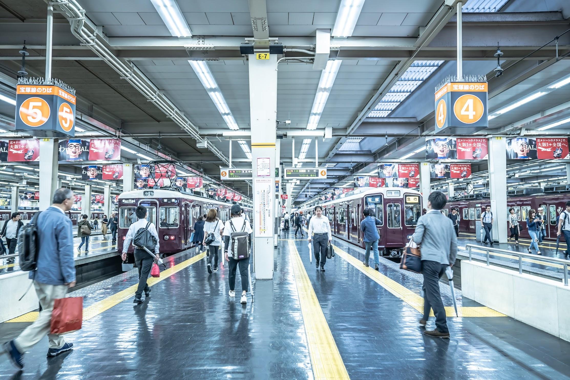 Hankyu Umeda station5