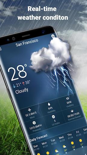 Weather Widget & Battery Checker  screenshots 5