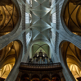 The Our Lady's Cathedral of Antwerp by Peter Luxem - Buildings & Architecture Places of Worship ( interior, church, antwerpen, antwerp, cathedral, kathedraal, worship, building )