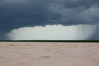 Photo: Year 2 Day 41 -  Break in the Storm on Tonle Sap Lake #2