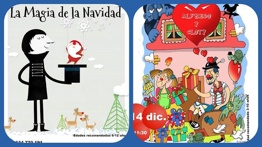 Navidad en Artenvacío con espectáculos para público familiar.