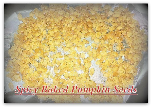 Spicy Baked Pumpkin Seeds Recipe