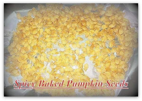 Spicy Baked Pumpkin Seeds Recipe