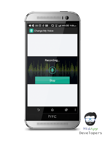 android Voice Changer for Kids Screenshot 2