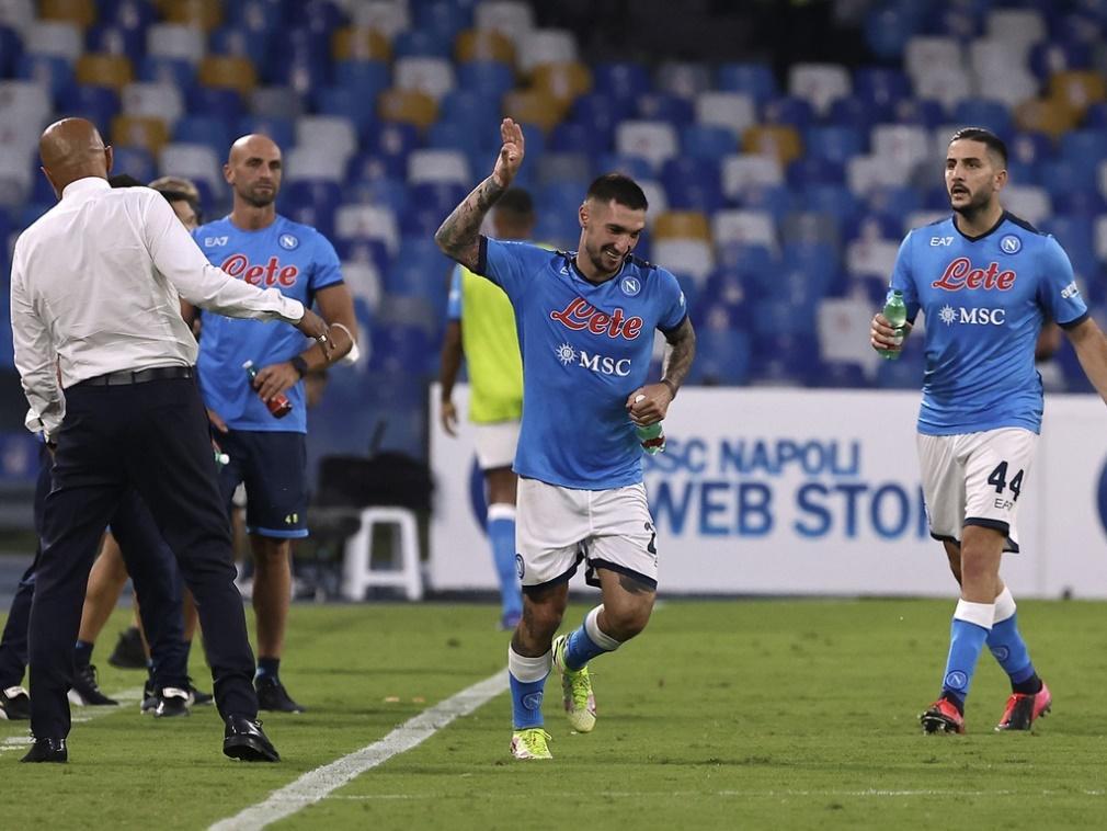 SSC Napoli đang có phong độ rất tốt giai đoạn đầu mùa giải