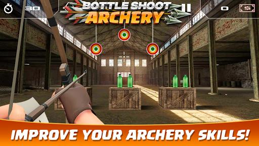 Bottle Shoot Archery 3.0 screenshots 1