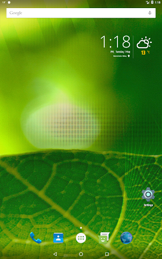 Simple weather & clock widget (no ads) screenshots 9