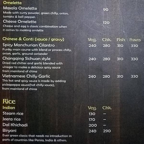 TED Resto Bar menu 6
