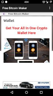 Free Bitcoin Maker - náhled