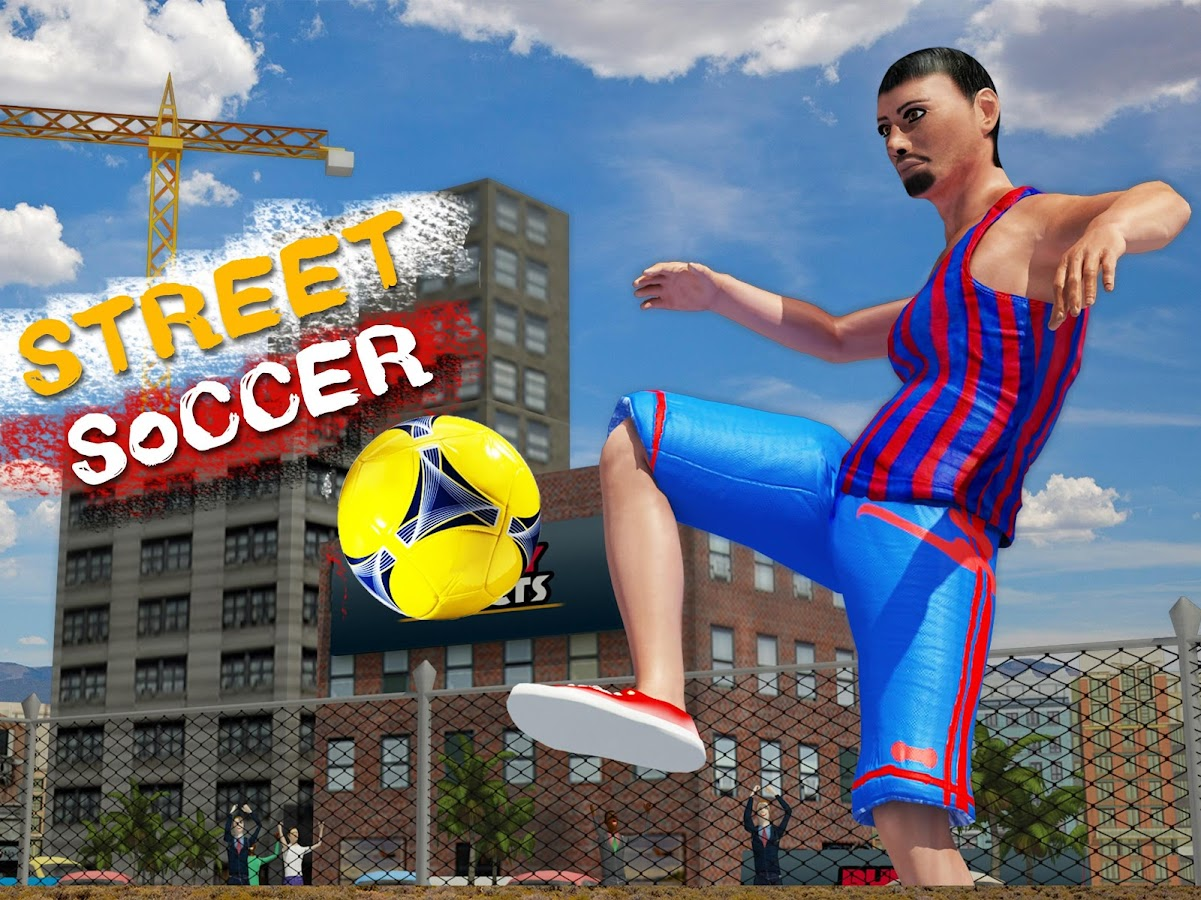 Play Street Soccer 2017 Game- screenshot