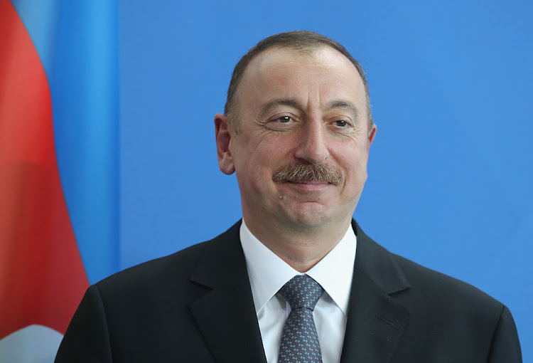 Azerbaijani President Ilham Aliyev. Picture: GETTY IMAGES