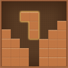 Wood Puzzle - Wooden Brick & Puzzle Block Game icon