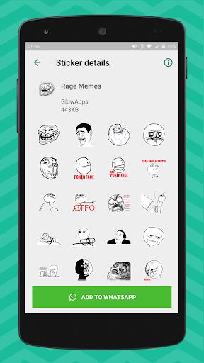 Meme Stickers for WhatsApp 1.07 screenshots 5