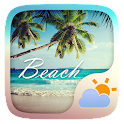 Beach GO Weather Widget Theme icon