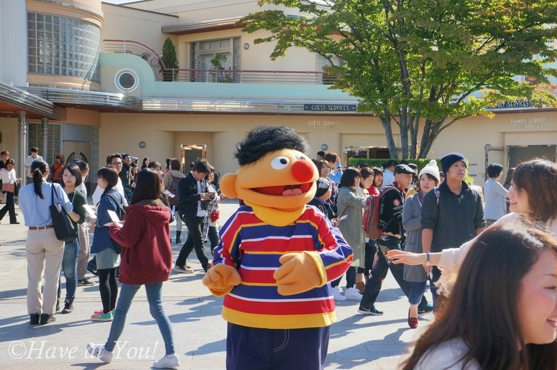 Ernie at USJ
