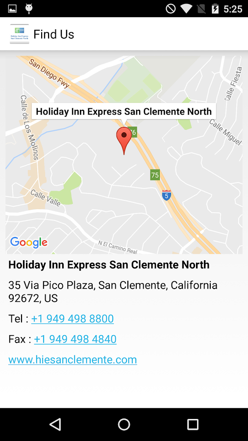 HIE San Clemente North- screenshot