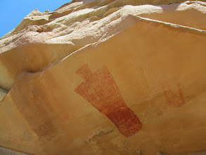 Photo: Fremont pictographs
