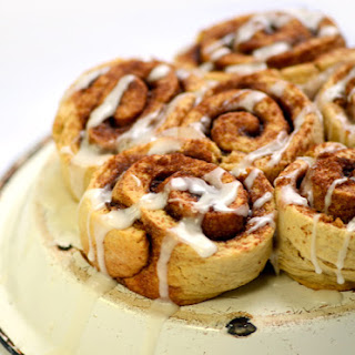 Yeast-free cinnamon rolls from Real Snacks